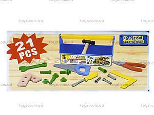 Набор инструментов для детей в саквояже, T215A, фото