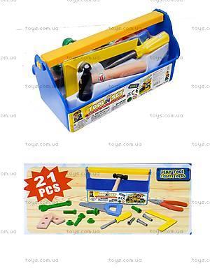 Набор инструментов для детей в саквояже, T215A