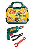 Набор инструментов «Механик» в чемодане, 386, игрушки