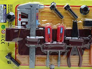 Набор игрушечных инструментов «Юный мастер», 1038B, фото