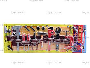 Набор игрушечных инструментов «Юный мастер», 1038B, отзывы