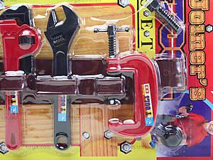 Набор игрушечных инструментов «Юный мастер», 1038B, игрушки