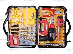 Детский набор инструментов в чемодане, T106A, фото