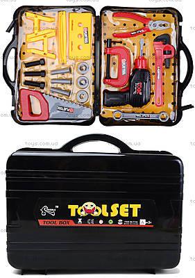 Детский набор инструментов в чемодане, T106A