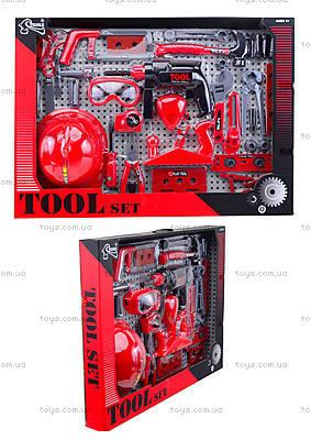 Игровой набор инструментов с каской, T117B(B)