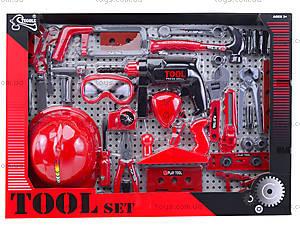 Игровой набор инструментов с каской, T117B(B), игрушки