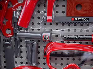 Игровой набор инструментов с каской, T117B(B), детские игрушки