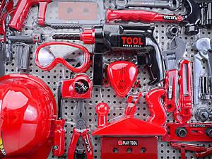 Игровой набор инструментов с каской, T117B(B), магазин игрушек