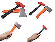 Набор детских инструментов: топор и молоток, 32-027, оптом