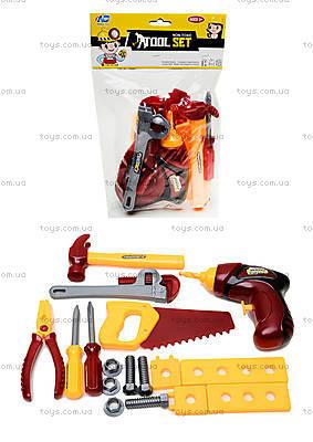 Набор игрушечных инструментов «Маленький мастер», 0717-B