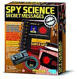 Набор юного шпиона «Секретные сообщения», 00-03295, фото