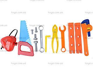 Набор детского инструмента «Юный плотник», 32-003, магазин игрушек