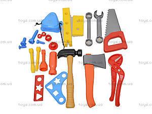 Детский игровой набор «Юный плотник», 32-002-2, игрушки