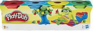 Набор из 4-х мини баночек  Play-Doh, 23241