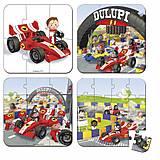 Набор из 4 пазлов Janod «Автомобиль Габина Формула 1», J02884, отзывы