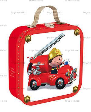 Набор пазлов «Пожарник», 4 штуки, J02882