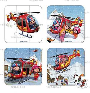 Набор пазлов «Твой вертолет», 4 штуки, J02870, купить