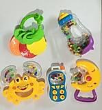 Набор из 5 погремушек для малышей, 999-33