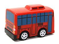 Набор заводных автобусов с мультика «Приключения Тайо», DK-01
