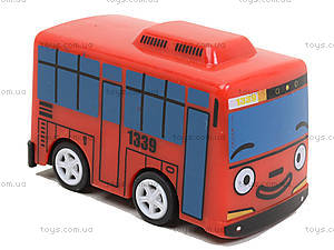 Набор заводных автобусов с мультика «Приключения Тайо», DK-01, купить