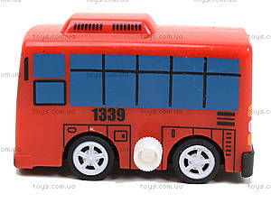 Набор заводных автобусов с мультика «Приключения Тайо», DK-01, отзывы