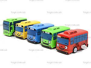 Набор заводных автобусов с мультика «Приключения Тайо», DK-01, цена