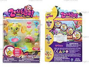 Игровой набор Zoobles Bandit «Парикмахерская», 13213-20044184(M05)-ZB
