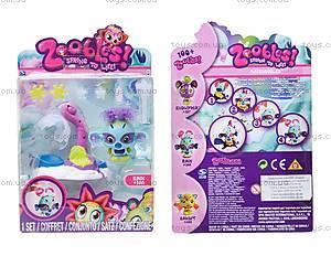 Игровой набор Zoobles «Парикмахерская» Rain, 13213-20044183(M05)-ZB