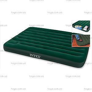 Надувная кровать с ножным насосом, 66928