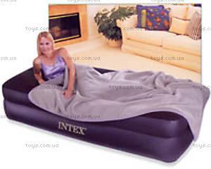 Надувная кровать с велюровым покрытием, 66721