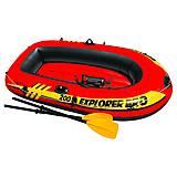 Надувная лодка Intex 58357 Explorer Pro 200 Set, 58357, интернет магазин22 игрушки Украина