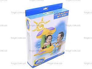 Надувная лодка с навесом «Цветочек», 56580, игрушки
