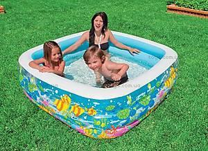 Надувной бассейн «Аквариум», 57471, фото