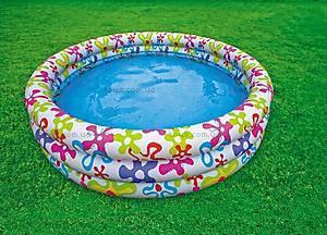 Надувной бассейн «Цветные брызги», 56440, купить