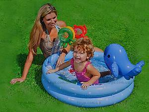 Надувной бассейн «Дельфинчик», 57400