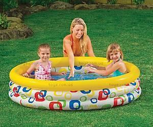 Надувной бассейн «Круги», 58439