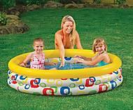 Надувной бассейн «Круги», 58439, toys.com.ua
