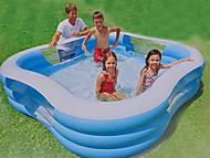 Надувной бассейн «Квадрат», 57495, купить игрушку