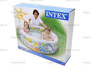 Надувной бассейн «Океан», 58480, детские игрушки
