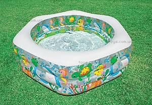 Надувной бассейн «Океанский риф», 56493, купить