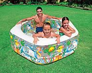 Надувной бассейн «Океанский риф», 56493, фото