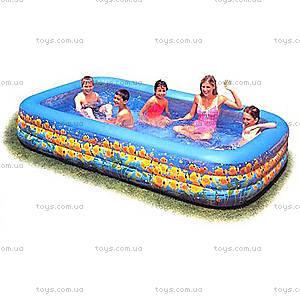 Надувной бассейн «Подводный мир», 58485