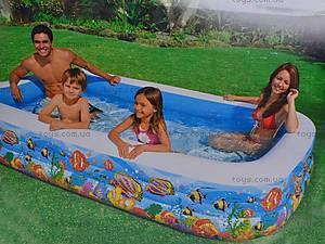 Надувной бассейн «Подводный мир», 58485, отзывы