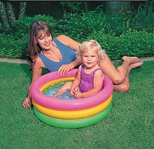 Надувной бассейн «Радуга», 57402, купить