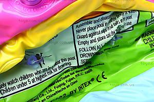 Надувной бассейн «Радужный», 57422, детские игрушки