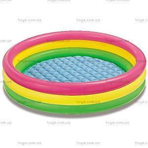 Надувной бассейн «Радужный», 57422, купить