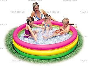 Надувной бассейн «Радужный», 57422