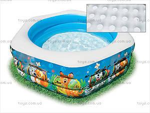Надувной бассейн, шестиугольный, 57496