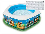 Надувной бассейн, шестиугольный, 57496, купить