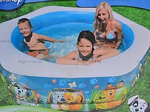 Надувной бассейн, шестиугольный, 57496, цена